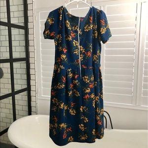 LuLaRoe Dresses - LuLaRoe Amelia XL EUC
